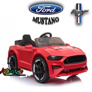 12 v Ford Mustang GT kids electric battery car red