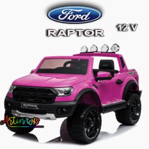 12-v-ford-raptor-kids-ride-on-car-pink-2