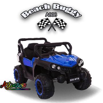 12 v Polaris Beach Buggy kids electric ride on car blue