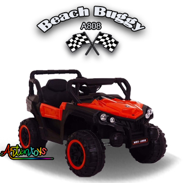 12 v Polaris Beach Buggy kids electric ride on toy car red