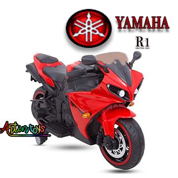 12 v Yamaha R1 kids ride on electric bike red