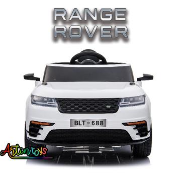 12 v Range Rover children's electric car white