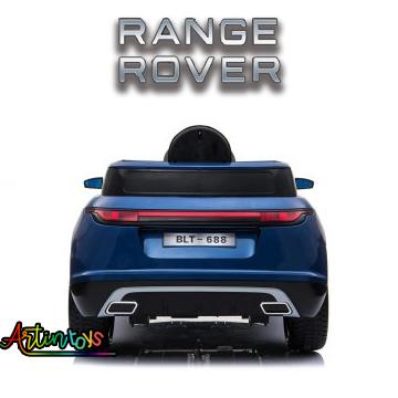 12 v Range Rover electric cars for kids navy blue