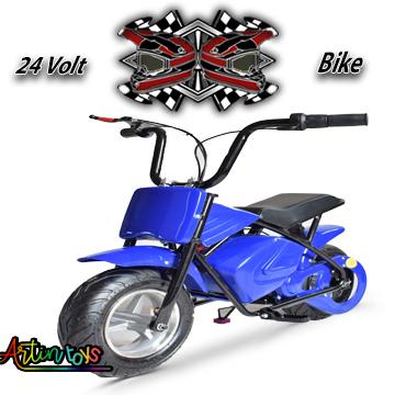 24 v 250 w Electric Motor Bike blue (E-GB03)