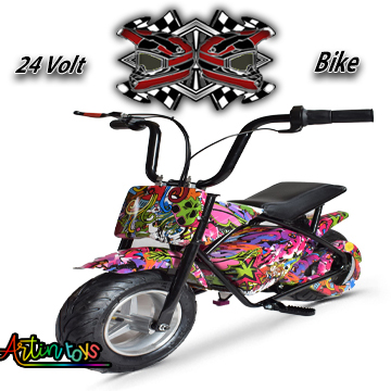 24 v 250 w Electric Motor Bike Camouflage (E-GB03)