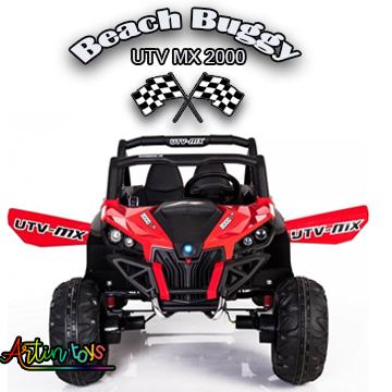 24 v 400 w Beach Buggy UTV MX kids electric car red