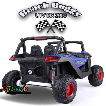 24 v 400 w Beach Buggy UTV MX kids ride on car blue
