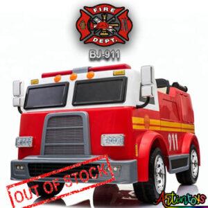 24-v-fire-truck-bj-911-kids-ride-on-car-red-6
