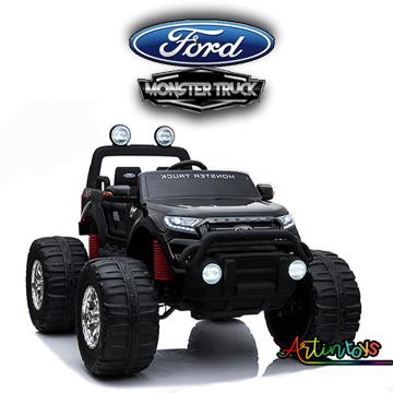 24 v Licensed Ford Monster Truck for kids black