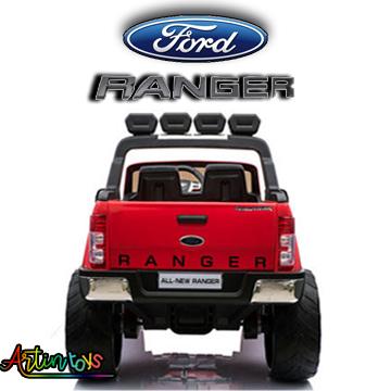 24 v Licensed Ford Ranger 4wd kids car red wine