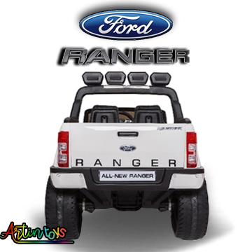 24 v Licensed Ford Ranger 4wd kids ride on car white