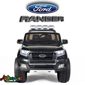 24 v Licensed Ford Ranger 4×4 SUV ride on car black