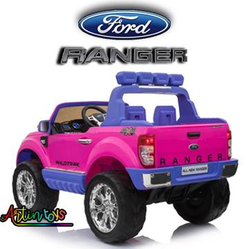 24 v Licensed Ford Ranger wildtrak 4×4 SUV pink