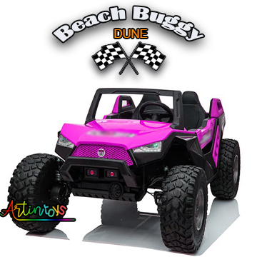 400 w 24 v Beach Buggy Dune Kids ride on car pink