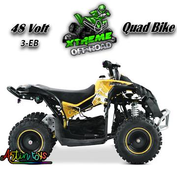 48-v-1060-w-atv-kids-quad-bike-orange-3