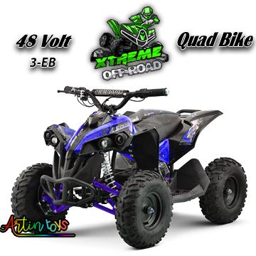 48-v-1060-w-atv-kids-ride-on-quad-bike-blue-2