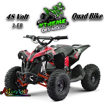 48-v-1060-w-atv-kids-ride-on-quad-bike-red-2
