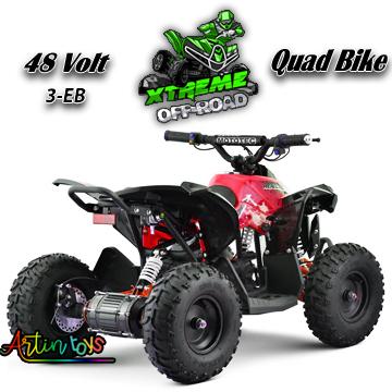 48-v-1060-w-atv-kids-ride-on-quad-bike-red-3