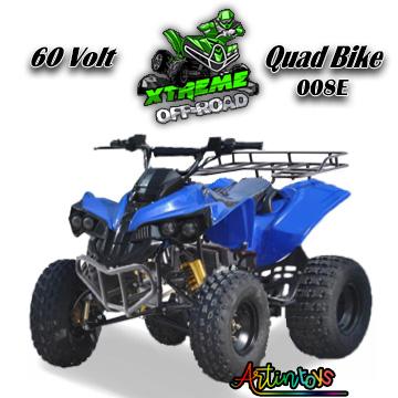 60 v 1200 w kids electric ATV Quad blue (008E)