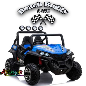 400 w 24 v Beach Buggy S-2588 ride on car blue