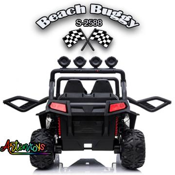 400 w 24 v Beach Buggy S-2588 car for kids white
