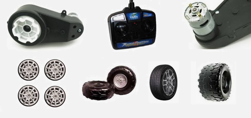 Ride On Cars Spare Parts