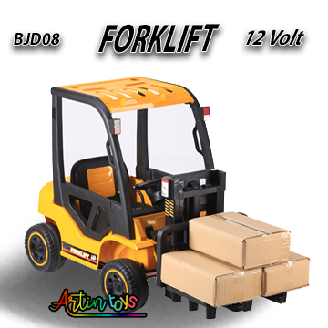 12-v-110-w-forklift-kids-electric-car-yellow-3