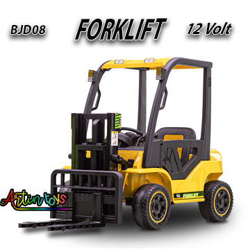 12-v-110-w-forklift-kids-electric-car-yellow-8
