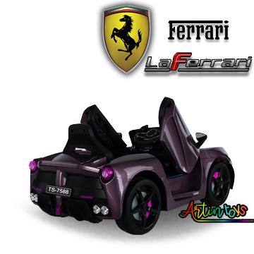 12-v-ferrari-la-ferrari-ride-on-car-rose-purple-9