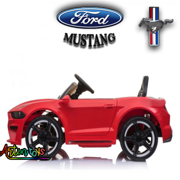 12-v-ford-mustang-gt-replica-kids-electric-battery-car-red-8