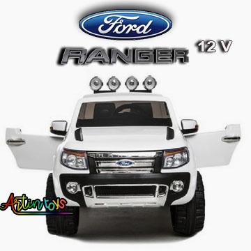 12-v-ford-ranger-kids-electric-ride-on-car-white-3