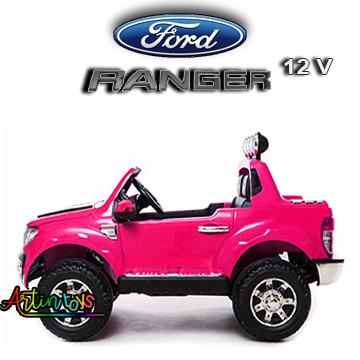 12-v-ford-ranger-kids-electric-toy-car-pink-2