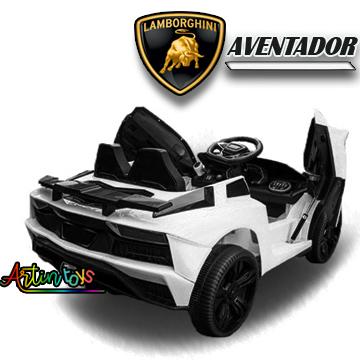 12-v-lamborghini-aventador-kids-car-white-2