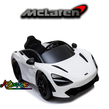 12-v-licensed-mclaren-720s-kids-ride-on-toy-car-white-7