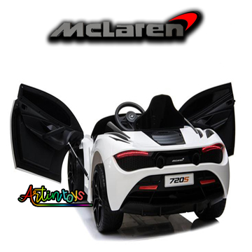 12-v-licensed-mclaren-720s-kids-ride-on-toy-car-white-9