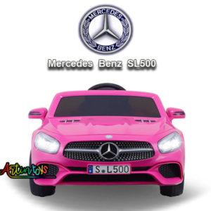 12-v-licensed-mercedes-benz-sl500-kids-auto-car-pink-11