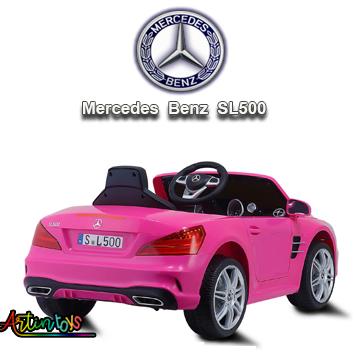 12-v-licensed-mercedes-benz-sl500-kids-auto-car-pink-9