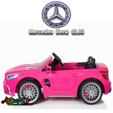 12-v-licensed-mercedes-sl65-ride-on-toy-car-pink-3