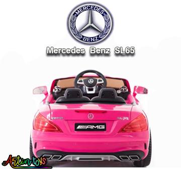 12-v-licensed-mercedes-sl65-ride-on-toy-car-pink-5