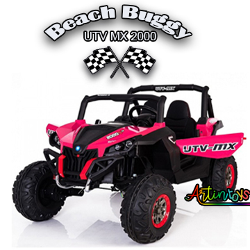 24-v-400-w-beach-buggy-utv-mx-kids-ride-on-car-pink-9