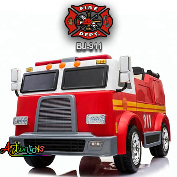 24-v-fire-truck-bj-911-kids-ride-on-car-red-2