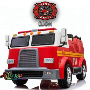 24-v-fire-truck-bj-911-kids-ride-on-car-red-2