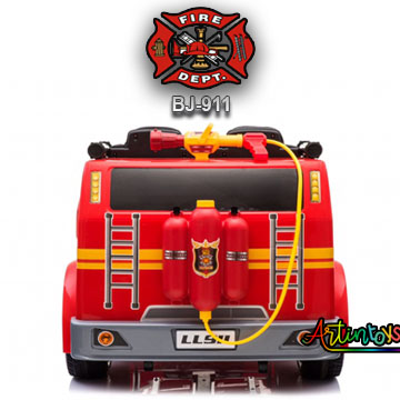 24-v-fire-truck-bj-911-kids-ride-on-car-red-5