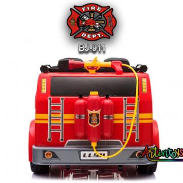 24-v-fire-truck-bj-911-kids-ride-on-car-red-5