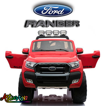 24-v-licensed-ford-ranger-4wd-kids-car-red-wine-8