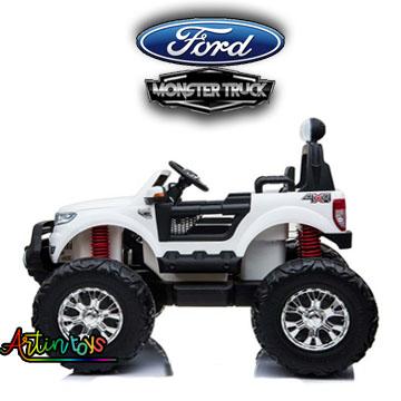24-v-licensed-ford-ranger-monster-truck-for-kids-white-15