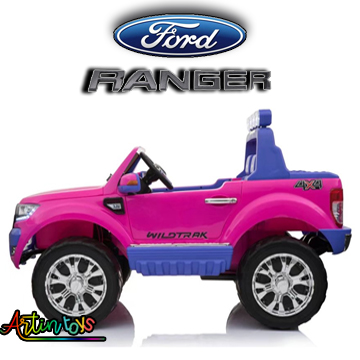 24-v-licensed-ford-ranger-wildtrak-4×4-suv-pink-9