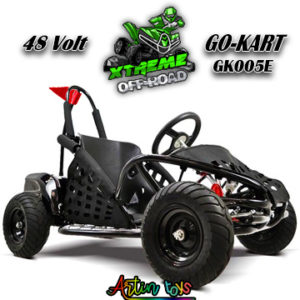 48-v-1000-w-kids-electric-race-go-kart-black-4