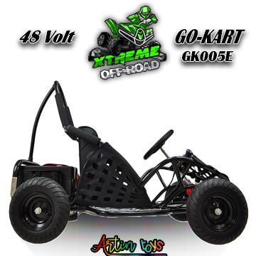 48-v-1000-w-kids-electric-race-go-kart-black-6