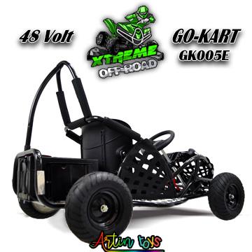 48-v-1000-w-kids-electric-race-go-kart-black-7